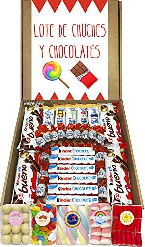 Lote Chocolates Kinder y Chuches Especial Regalo. La Caja Co