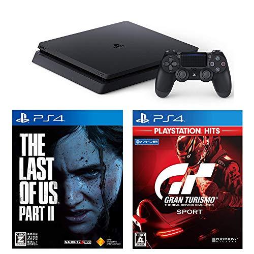 PlayStation 4 + グランツーリスモSPORT + The Last of Us Part II セット 【CEROレーティング「Z」】