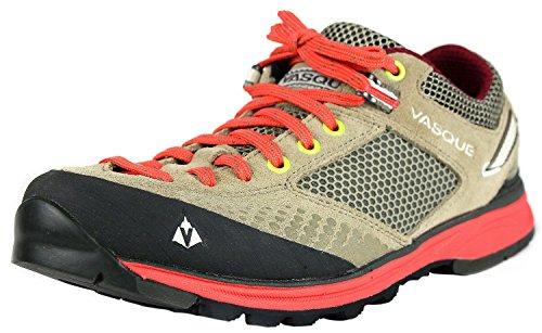 Vasque Women's Grand Traverse Hiking Shoe,Aluminum/Hot Coral,8.5 M US