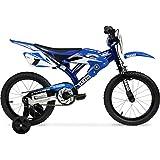 16' inch Yamaha Moto Bike BMX Kids Bicycle Child Bikes Boys Girls Gift Blue