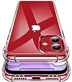Garegce Coque pour iPhone 11 2019, 2 Pack Verre Trempé Protecteur écran,...
