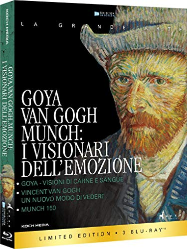 Goya, Van Gogh, Munch - I Visionari Dell'Emozione (Box 3 Br)