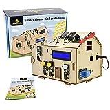 KEYESTUDIO Iot Smart Home Kit pour Arduino STEM pour Internet des Things, Building mécanique, ingénierie électrique, Code Educational pour Enfants