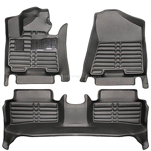 fussmattenprofi.com Tappetini per Auto Eccellente 3D su Misura Alta qualit Adatto per Hyundai Tucson...