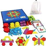 EACHHAHA Puzzle en Bois-Tangram-Jouets Montessori-Jouets éducatifs...