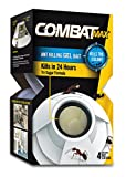 Combat Max Ant Killing Gel Bait Station, Indoor and Outdoor Use, 4 Count