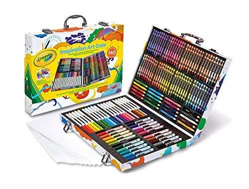 Crayola Valigetta Arcobaleno Per Colorare e Disegnare, Et 4 Anni, per Gioco e Regalo, Colori...
