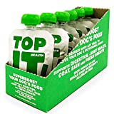TopIt! | Healthy Dog Food Nutritional Supplement | Supports Digestion, Joint Health, Coat, Skin and Fresh Breath | Dog Supplements | Grain Free Dog Food | Limited Ingredient Dog Food | (6 Pouches/Box)
