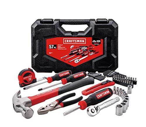 CRAFTSMAN Home Tool Kit / Mechanics Tools Kit, 57-Piece (CMMT99446)