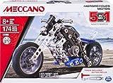 MECCANO - MOTO 5 MODÈLES - Coffret Inventions Avec 174 Pièces Et 2 Outils -...