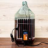 Fermentation Carboy Heater with Thermostat - Kombucha Heating Kit - Home Brewing Heat Strip Belt Wrap Brew Warmer Warming Pad with Temperature Controller - Works with any Vessel up to 8 Gallons