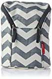 Skip Hop Grab & Go Insulated Breastmilk Cooler and Double Baby-Bottle Bag - Chevron