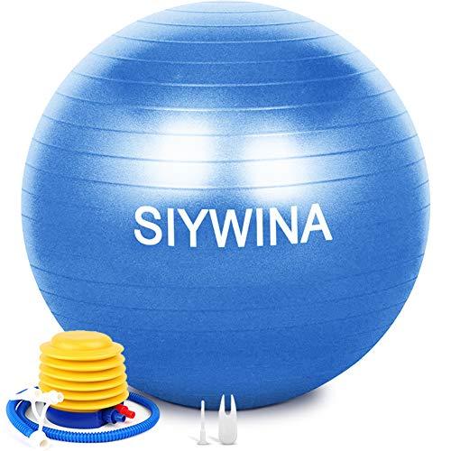 SIYWINA Fitness Pelota de Ejercicio Pelota de Pilates Embarazadas Anti...
