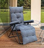 Spacecrafts Recliner Folding Easy Chair for Home Relax (LEC, Grey)