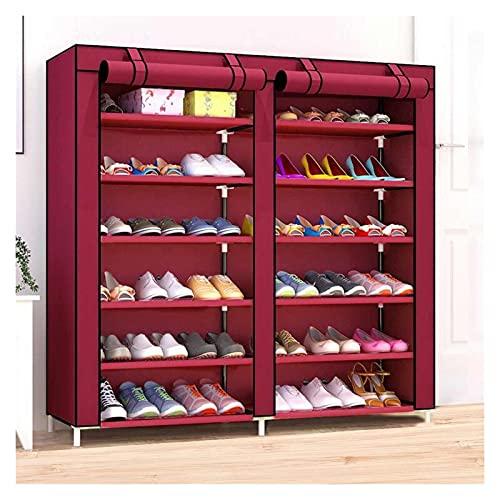 Zapatero Multifunción 12 capas zapatos gabinete a prueba de...