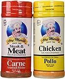 Chef Merito Carne Asada Beef and Chicken Seasoning Combo Pack, 14 oz I Pollo Asado,Carne Asado, Fajitas, Rotisserie Chicken, Meat Seasoning