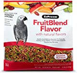 ZuPreem® FruitBlend with Natural Fruit Flavors Medium/Large Bird Food, 12 Lbs Multi Colored