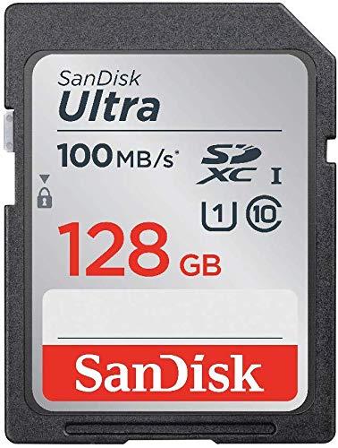 【 サンディスク 正規品 】  SDカード 128GB SDXC Class10 UHS-I 読取り最大100MB/s SanDisk Ultra SDSDUNR...