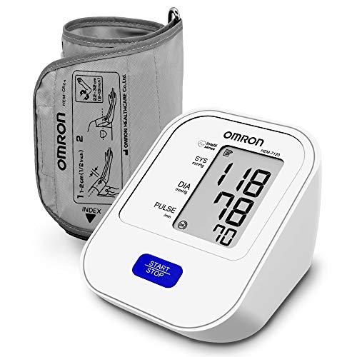 Omron HEM 7120 Fully Automatic Digital Blood Pressure Monitor With Intellisense Technology For Most...