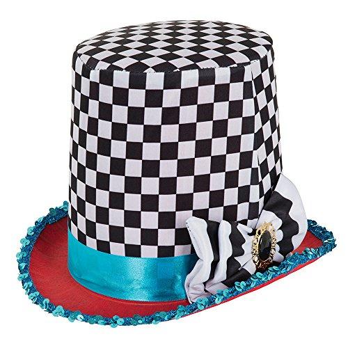 Bristol Novelty - Sombrero de cuadros con diseño de tapicería, multicolor, talla única , color/modelo surtido