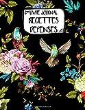 Livre Journal Recettes Dépenses: A4 -106 pages - Fleurs - Floral - bouquet...