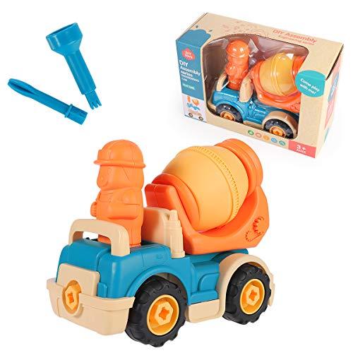 Construction Truck Toys, Milius Engineering Vehicles Car...