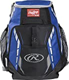Rawlings R400 Youth Players Team Equipment Backpack, Royal Blue