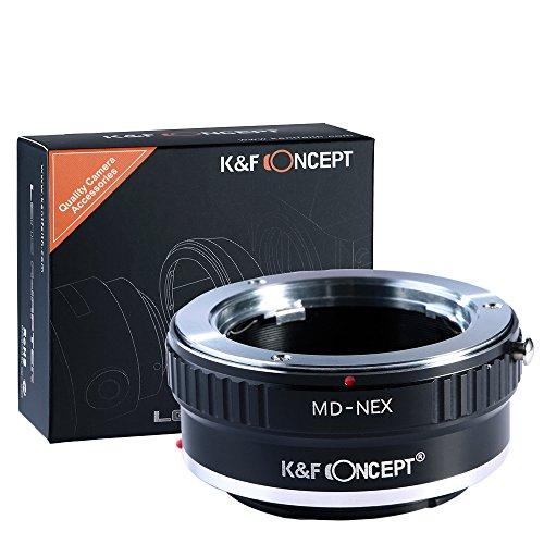 K&F Concept マウントアダプター Minolta MD MCレンズ- Sony NEX Eカメラ装着用レンズアダプターリング マ...