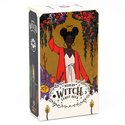 Huluda Modern Witch Tarot 78 Cards Deck Oracle Card Guidance...