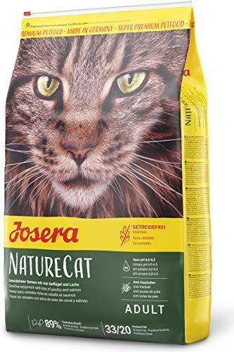 JOSERA NatureCat (1 x 10 kg)   getreidefreies Katzenfutter mit Geflügel und...