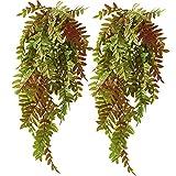 Decoracin de Pared Ivy Vine Plantas Colgantes Artificiales de Helecho Hojas de Hiedra Guirnalda de Plantas Artificiales Enredadera Colgante Artificial para La Decoracin del Hogar al Aire Libre