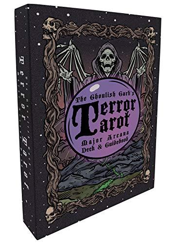 Terror Tarot - 22 Card Major Arcana Tarot Card Deck and...