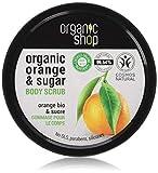 Este exfoliante corporal tonificante restaura al instante la suavidad y flexibilidad de su piel Elaborado con aceite de naranja orgánica y azúcar natural Apto para todo tipo de pieles