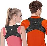 Anoopsyche Corrector de Postura Corrector Espalda Soporte Ajustable para Postura de Espalda...