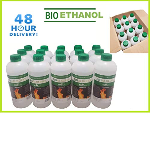 Premium BIOETHANOL Fuel for Fires, Free Next Business Day, 2hr ETA Delivery to Mainland UK for Orders Placed Before 3pm. Bio Ethanol Liquid Fuel for bioethanol Fires.from £1.99/L (6 Litre)