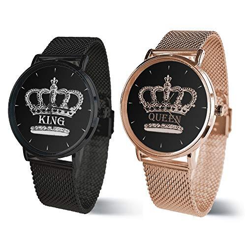 Orologi di Coppia King e Queen Nomi