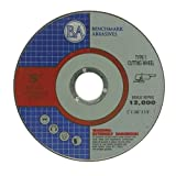 5'x.045'x7/8' Quality Thin Cutoff Wheel Metal & Stainless Steel - 50 Pack