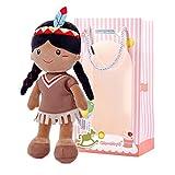 Gloveleya Peluche Bambola di pezza Bambola Giocattolo farcito Regalo per Bambina Morbido e Sicuro da Giocare Baby Doll Series - Ballerina