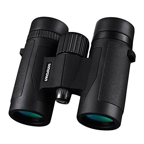 Wingspan Optics FieldView 8X32 Compact Binoculars for Bird Watching. Lightweight and Compact for Hours of Bright, Clear Bird Watching. Also for Outdoor Sports Games and Concerts
