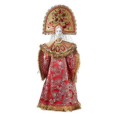 Material: porcelain, fabric, cardboard, filler. Height: 13.2''. Handmade. Made in St.-Petersburg, Russia.