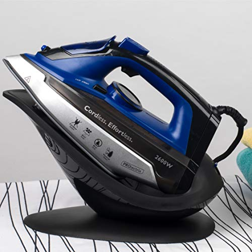 PROLECTRIX EF0274BGP-VDE 2-in-1 Cordless Steam Iron with European Plug, 2600 W
