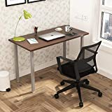 SOS Spacewood LiteOffice Eco Desk Home and Office Table (Lorraine Walnut)