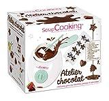 ScrapCooking - Atelier Chocolat - Appareil Fondue à Chocolat avec Accessoires -...