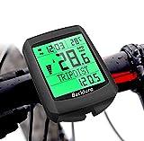 BACKTURE Compteur de vélo, 5 Langues Compteur Kilometrique de Vélo,...