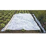 Werkapro 10381 - Voile d'hivernage en rouleau - 2 x 10 m - 30 g/m² - Blanc