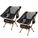 Chaise de Camping, Sportneer Lot de 2 Portable Léger Pliable Camping...
