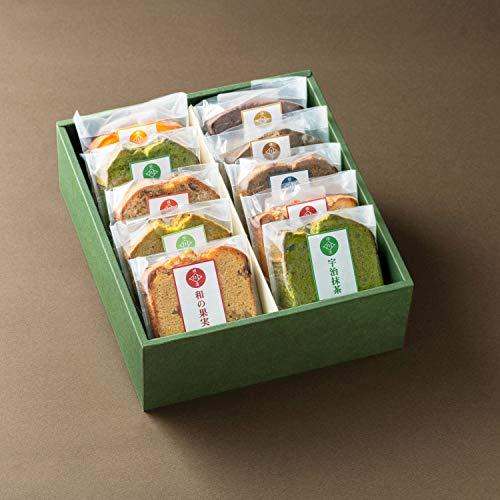 自家製 いせぶら パウンドケーキ 洋菓子 保存料不使用 詰め合わせ 川本屋茶舗 (10個入り)