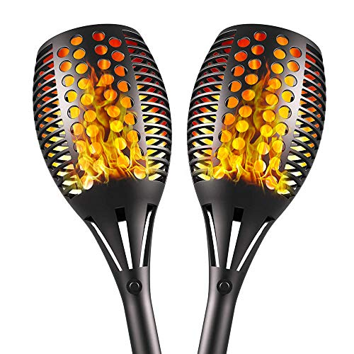 Aityvert Upgraded Solar Torch Lights 43 inches Flickering Dancing...