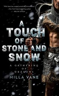 A Touch of Stone and Snow by Milla Vane book cover