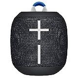 Ultimate Ears Wonderboom 2, mobiler kabelloser Bluetooth-Lautsprecher, krasser Bass und 360-Grad-Sound, wasserdicht/staubdicht gemäß IP67, schwimmfähig, 30 m Reichweite, Schwarz